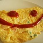 ไข่เจียวผักโขมชีส