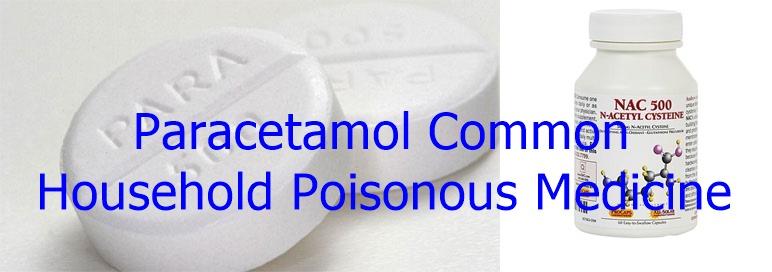 Paracetamol Common Household Poisonous Medicine
