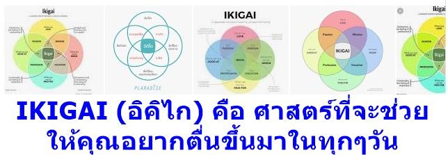 IKIGAI (อิคิไก) คือ ศาสตร์ที่จะช่วยให้คุณอยากตื่นขึ้นมาในทุกๆวัน