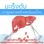 การดูเเลผู้ป่วยมะเร็งตับระยะสุดท้ายเเบบประคับประคองในทางการเเพทย์แผนไทย